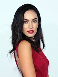 megan fox makeup red lipstick