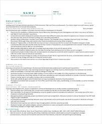 26+ Manager Resume Templates - Pdf, Doc | Free & Premium Templates