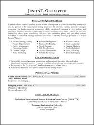 different resumes. resume samples types ...