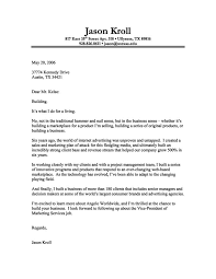 cover letter sample of a dynamic marketing executive with expertise in web marketing a perfect cover letter