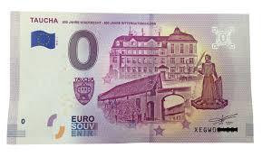 Eine gruppe von editoren, researchern und spezialisten. 0 Euro Schein Taucha Setzt Auf Sammlertrend So Sieht Der Schein Aus