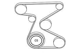 2006 scion tc l4 2 4l serpentine belt diagram serpentinebelthq com a serpentine belt diagram for a 2006 scion tc l4 a 2 4l engine