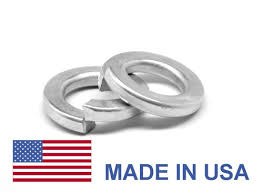 5 16 An960 Flat Washer Usa Low Carbon Steel Yellow Cadmium