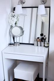 Outstanding Vanity Ideas For Small With Best About Makeup Vanities Trends  Picture