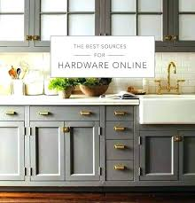 Restoration Hardware Cabinet Pulls  For Kitchen Love The Gray Cabinets Sink E91