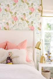 Great Girly Wallpaper For Walls Best 25 Girls Bedroom Wallpaper Ideas On  Pinterest Bedroom Rust Colored Curtains