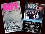 <b>KISS</b> TOURDATES <b>Hot in</b> the shade 1990