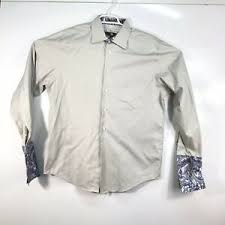 Egara Size Chart Details About Mens Egara Large Dress Shirt Mint Condition