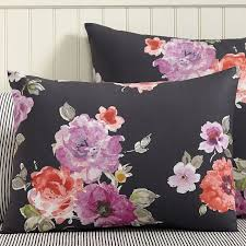 view in gallery vintage style fl shams from pottery barn teen