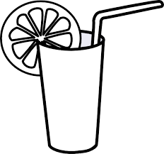 iced tea clipart black and white. Perfect White Intended Iced Tea Clipart Black And White Y