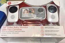 motorola 2 8 video baby monitor. item 2 motorola mbp483-2 2.8\ 8 video baby monitor o