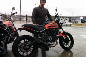 ducati scrambler sixty2 first ride mcn