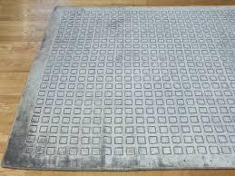 rugsville bamboo silver gray silk 18002 rug 18002