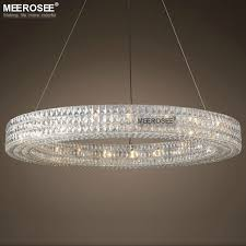 charming round crystal chandeliers luxury chandelier light large luminaires hanging