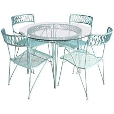salterini outdoor furniture. wrought iron dining set by maurizio tempestini for salterini porch furnituregarden outdoor furniture