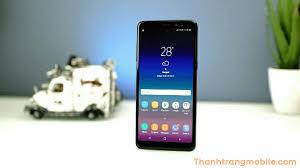 Thay kính điện thoại Samsung galaxy A8 2018 - Thanh Trang Mobile