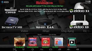 ZIDOO X1 Android TV Box biến Tivi thường thành Smart TV thông minh