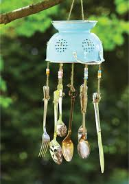 Diy Wind Chimes Craft This Unique Wind Chime Out Of Old Kitchen Utensils