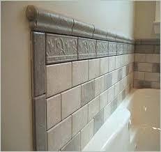 tile around bathtub how