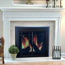 cleaning glass fireplace doors wood burning fireplace glass doors pleasant hearth prairie cabinet fireplace screen and