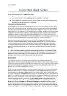 child development ao a level healthcare marked by teachers com safeguarding children and young people this essay looks at how to spot child abuse