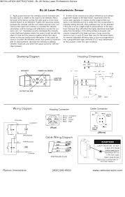 bl 26 laser photoelectric sensor installation instruction laser Photoelectric Sensor Wiring Diagram bl 26 laser photoelectric sensor installation instruction page2 7764662 bl 26 laser photoelectric sensor installation instruction photoelectric sensor wiring diagram load