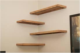 wall hung corner shelf unit