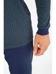 Light Cotton Pyjamas Printed Pyjamas Light Cotton Men Nightwear Armor Lux