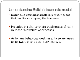 using belbin s team role model <br > 12 understanding belbin s team role model<br