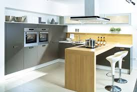 white brown colors kitchen breakfast. Excellent Breakfast Bar Ideas For Small Kitchens And With Counter Pronorm Classicline Lava White Brown Colors Kitchen O
