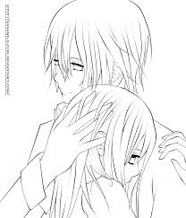 Small Picture Images Of Vampire Knight Zero And Yuki Coloring Pages Ka Anime
