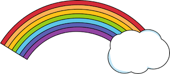 Image result for rainbow cloud