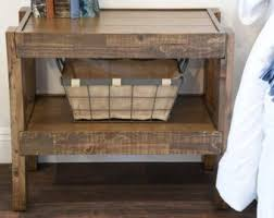 reclaimed wood nightstand. Reclaimed Wood Rustic Nightstand End Table - Barn Style Side PresEARTH Spice