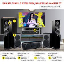 Dàn âm thanh 5.1 xem phim, nghe nhạc Yamaha 07 chính hãng