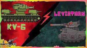 Chơi game bắn xe tăng Quái vật - KB-6 Vs Leviathan #6   Phim hoạt hình về xe  tăng