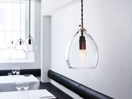 the northern lighting unika pendant light clear at nestcouk for stylish residence glass pendant light plan