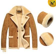 mens fur lined leather coat cwmalls com
