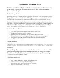 Organizational Structure 5 Essay Research Paper Sample