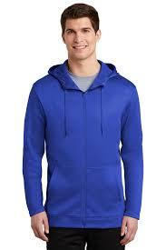Design Your Fleece Nike Golf Nkah6259 Mens Therma Fit Full Zip Fleece Hoodie