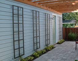 Small Picture Custom aluminum wall trellis gardenmetalworkcom House Garden