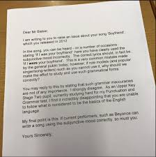 11 year old student sends letter to justin bieber about his grammar