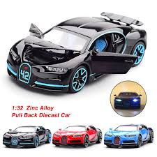 Bugatti divo matt gray with blue accents 1/18 diecast model car by bburago. 1 32 Bugatti Chiron Zinc Alloy Pull Back Diecast Car Model Collection With Light Sound Buy At A Low Prices On Joom E Commerce Platform