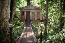 inside of simple tree houses. Treehouse Point In The US Inside Of Simple Tree Houses