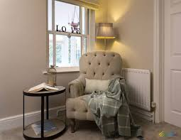 create a comfortable reading nook with