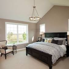 Bedroom ideas with black furniture Home Decor Bedroom Traditional Carpeted Bedroom Idea In Minneapolis With Gray Walls Houzz Black And Beige Bedroom Ideas And Photos Houzz