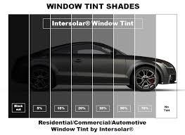 Window Tint Shades Chart Car Tint Percentage Chart Bedowntowndaytona Com