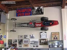 best ideas garage wall art brizios champion sd dragster champion sd race car wallmount