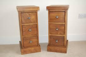derbyshire handmade plank pine bedside