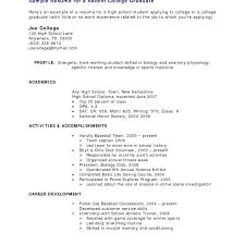 Resume Examples For A Highschool Student – Resume Ideas Pro