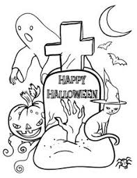 Small Picture Printable October coloring page Free PDF download at http